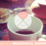 31 Days to a Meaningful Morning: Starting with Intention