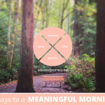 31 Days to a Meaningful Morning: The Journey Continues