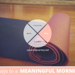 31 Days for a Meaningful Morning: Setting the Stage for Your Morning Ritual