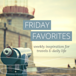 Friday Favorites: On Being