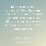 Monday Musing: Follow the Signs