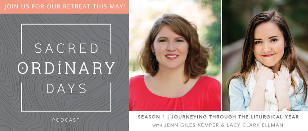 Just one month until our Sacred Ordinary Days retreat! Join us in Waco, TX, over Memorial Day Weekend for feasting, fellowship, spiritual practice, and conversation. Space is limited! Learn more and register »