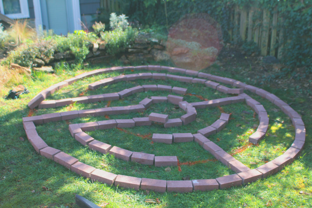 How To Create A Brick Garden Labyrinth A Sacred Journey