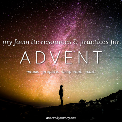 My Favorite Resources + Practices for Advent