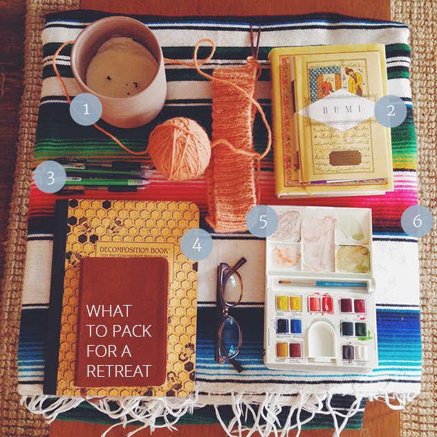 What to Pack for a Retreat » asacredjourney.net