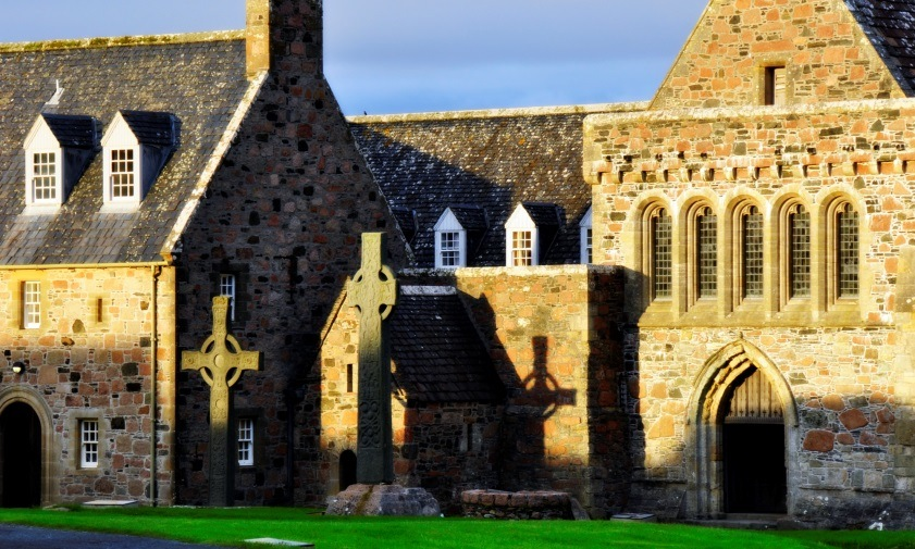 Iona Abbey, by Patricia Turner