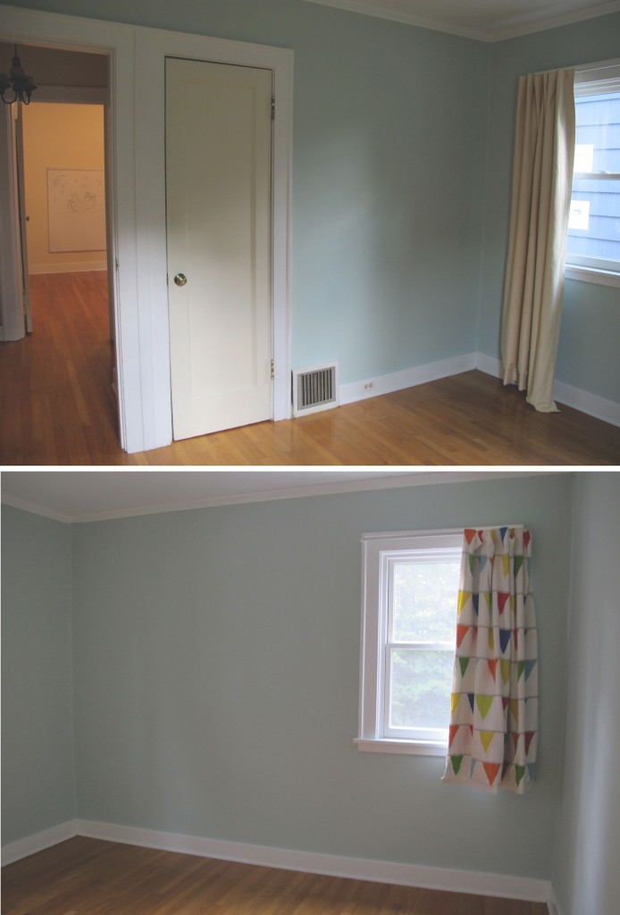 second bedroom on the first floor