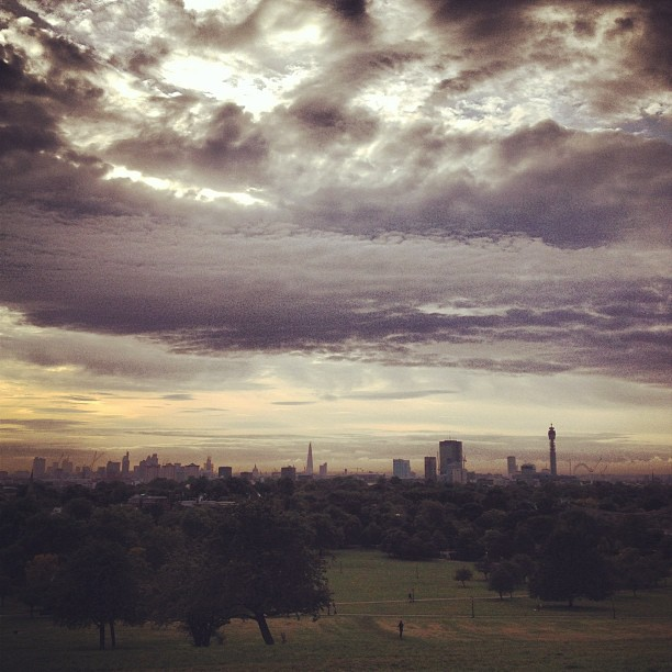 Primrose Hill Sunset (image by Alva Leigh)