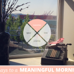 31 Days to a Meaningful Morning: Your Morning Manifesto