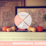 31 Days to a Meaningful Morning: From Special Place to Sacred Space