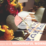 31 Days to a Meaningful Morning: Bringing Your Sacred Space to Life