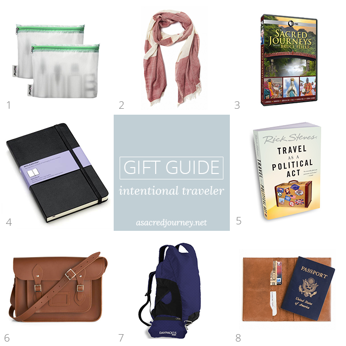 Gift Guide for the Intentional Traveler » https://www.asacredjourney.net