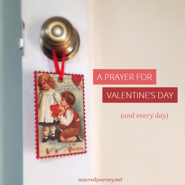 Valentine's Day Prayer