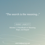 Monday Musings: The Search is the Meaning