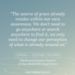 Monday Musing: Finding Grace All Around You (+ a free meditation experience!)