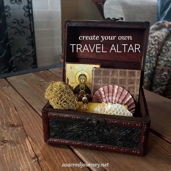 How to Create Your Own Travel Altar » https://asacredjourney.net